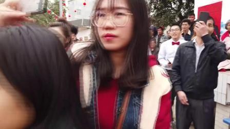 南宁宾阳县古辣镇义陈村出嫁金花回娘家聚会(上)