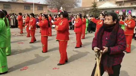 2019元宵节闻喜县侯村上节火星会广场舞