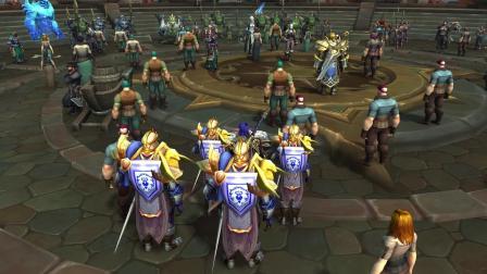 库尔提拉斯人和赞达拉巨魔 《魔兽世界》全新的同盟种族即将到来!