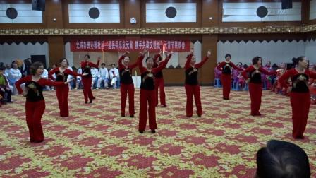 盐湖区老体协春节大拜年舞蹈《过年啦》{视频}