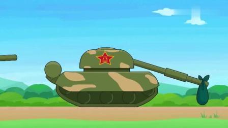 聪明的顺溜之雄鹰小子动漫:前进吧坦克