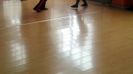 咏春拳训练课片段。