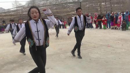 坝沟村社火:现代舞