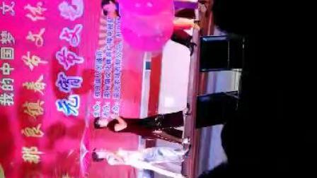 040广西防城港那良镇2019元宵晚会那良文化站艳艺舞蹈队表演旗袍秀