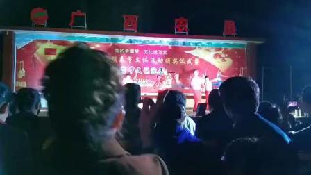 018广西防城港那良镇2019元宵晚会滩散舞蹈队表演风筝误