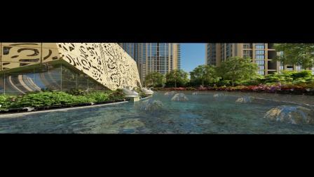 房地产建筑漫游4D立体影片