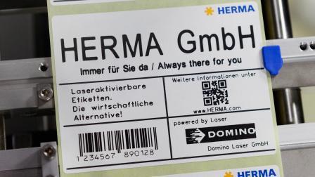 HERMA 400 激光型贴标机