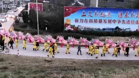 铜陵市铜官区新城办事处建立村刘氏龙灯会圆满结束。