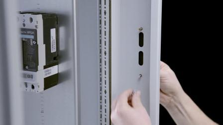 TS 威图隔离开关联锁装置的安装