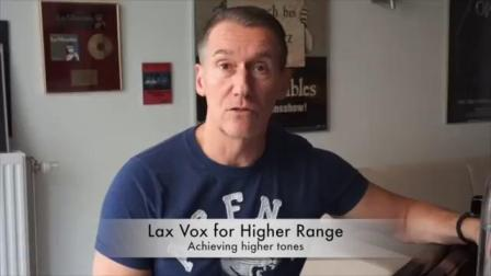 Lax Vox exercise for High Singing  Universal Voice International