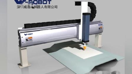 威洛博机器人动画视-直线模组应用视频