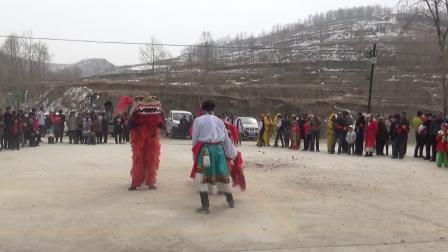 坝沟社火:小狮子