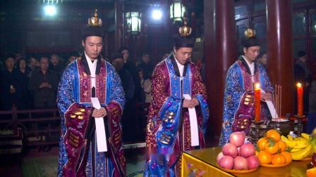 北京白云观己亥年庆贺邱祖圣诞祝寿(字幕)