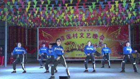 市民公园舞蹈队《38度6 》2019年潭莲古庙元月十八晚会