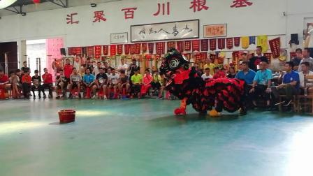 2018年广东省传统南狮教练员培训班之盆青(莫钢崇摄)