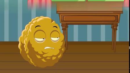 开心的小坚果-植物大战僵尸游戏搞笑动画