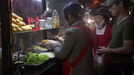 法棍面包,越南街头地道小吃源于法国殖民改进