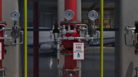 消防领域-应用场景-Hangar_Fire