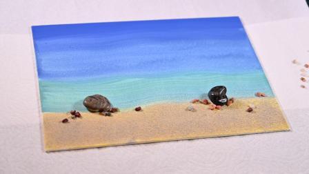 Miniese微距摄影《海滩》教学视频