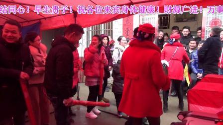 洪湖市 汊河镇 邹万村 张乐 沈千 新婚庆典视频