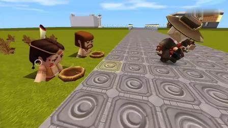 迷你世界故事:两个穷人面对金钱和面包会如何选择?