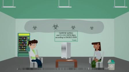 如何通过空气净化器确保医院空气洁净度
