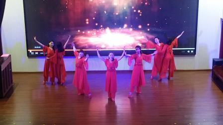 2018年连云港市墟沟教堂圣诞节舞蹈《主必再来》