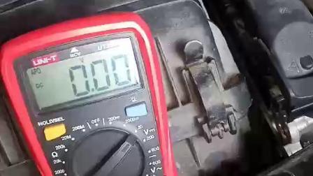 大力汽修学院 试灯 示波器 万用表 测量占空比信号