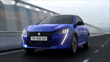 全新一代标致208法国汽车完美展示,颜值给满分