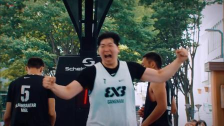 FIBA3x3球星集锦—韩国球星Minsu Park