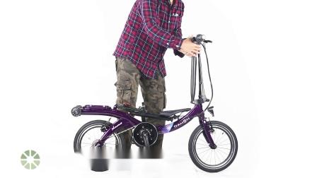大行新浪电动折叠自行车-产品演示
