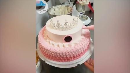 少女小清新风蛋糕制作-味逾新餐学院