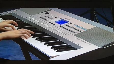 电子琴六级乐曲《红星闪闪放光彩》