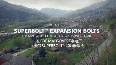 法国EDF水电站安装洛帝牢联轴器螺栓