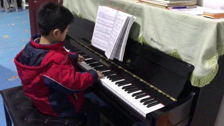 钢琴基础教程1册《抒情曲》钢琴曲