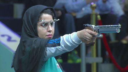 ISSF国际射联新德里世界杯-女子10米气手枪决赛