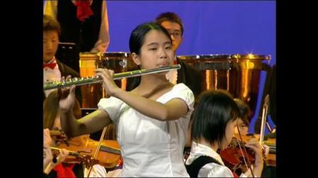 成都市石室中学长笛独奏《阳光灿烂照天山》