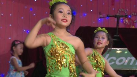 广州飞扬舞蹈艺术培训学校6周年庆典表演 少儿班傣寨情
