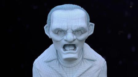 Hannibal Lecter角色模型创作解析视频