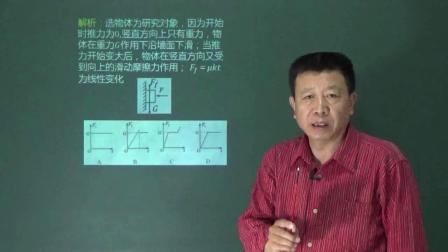 人教版高一物理必修一第三章相互作用第三节第三讲 3.3.3摩擦力名师示范课视频