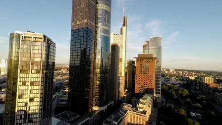 城市素材—城市高楼大厦航拍视频