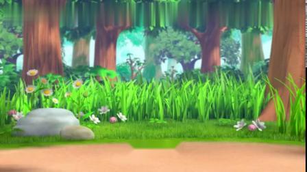 萌鸡小队-鸡妈妈拿来草莓,萌鸡们邀请新朋友,新朋友很厉害JX