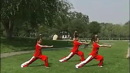 《旭日东升》武术操镜面示范_-生活-高清正版视频在线观看–爱奇艺2