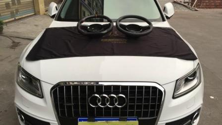 【东莞奥迪汽车改装】奥迪Q5安装碳纤维方向盘