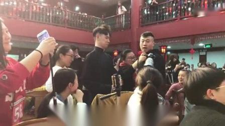 我在0111张云雷三庆园返场截了一段小视频