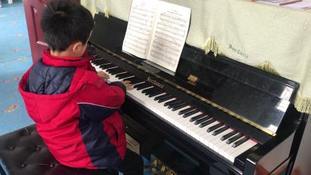 巴赫钢琴初级曲集《小步舞曲8》