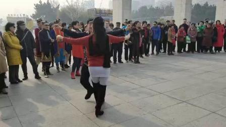 [舞心]威海大漠胡杨团长北京赵鑫老师快乐对跳赛乃姆
