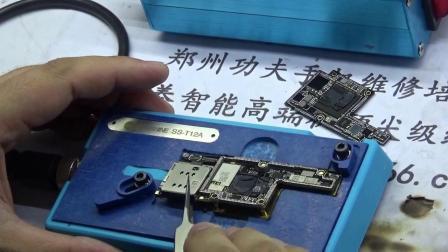 郑州手机维修培训学校 iPhone X主板分层安装技巧最终版