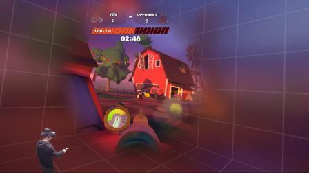 全影汇VR体验馆HTC大平台最火爆游戏堡垒之夜版VR对战网游--Slightly Heroes