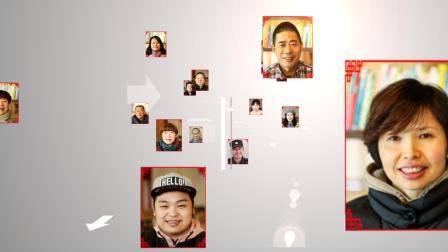图片飞入融合汇聚笑脸墙图片照片处理